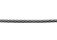 Стальной трос, с синтетической сердцевиной, 6 мм, 120 м, DIN 3055, ЗУБР 4-304110-06