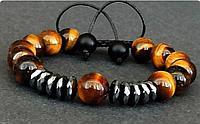 Мужские браслеты с камнями