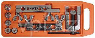 Набор инструмента для развальцовки трубок 5-19мм, 8пр.  Автодело 40409