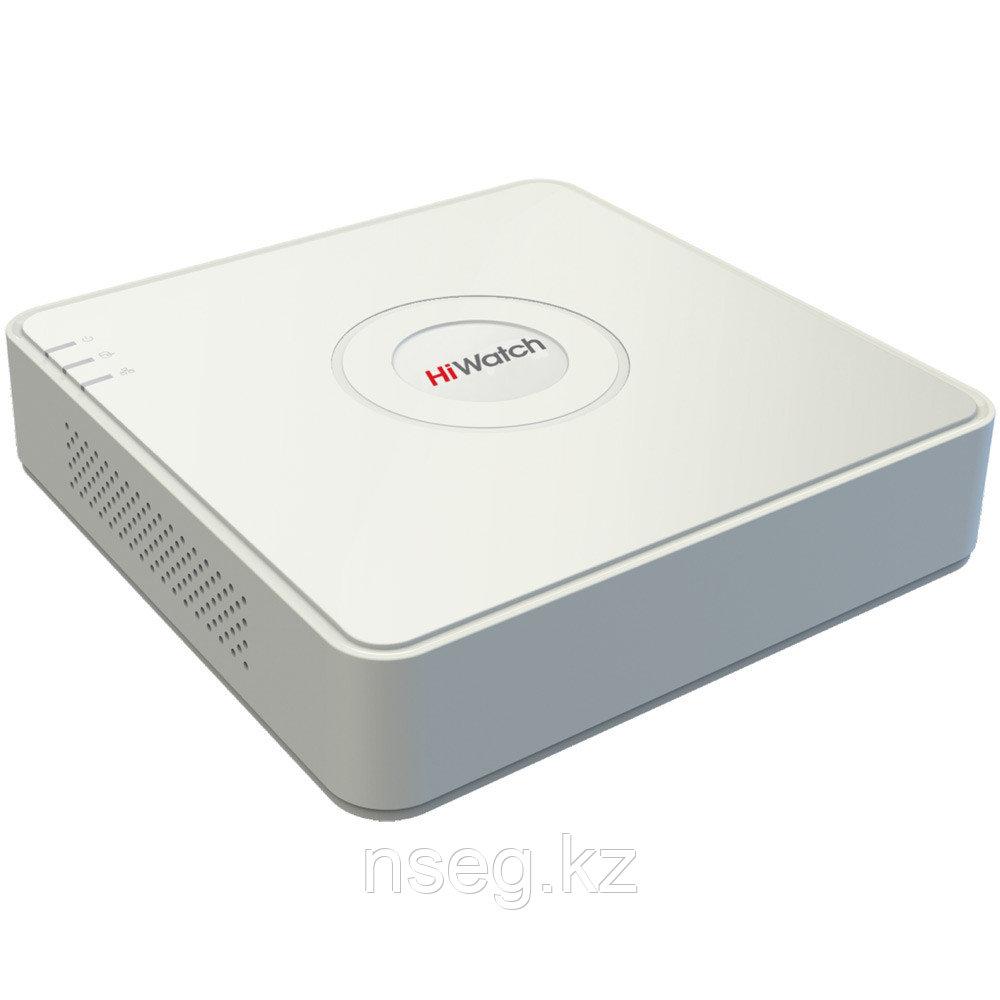 8-ми канальный IP-регистратор с 8 PoE. DS-N208P