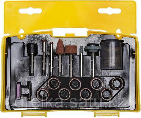 """Набор мини-насадок STAYER """"MASTER"""" для гравировальных машин, 67 предметов, пластиковый кейс , фото 2"""