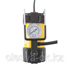 Компрессор автомобильный AC-37, 12 В, 7 атм., 37 л/мин, автомобильный предохранитель Denzel, фото 3