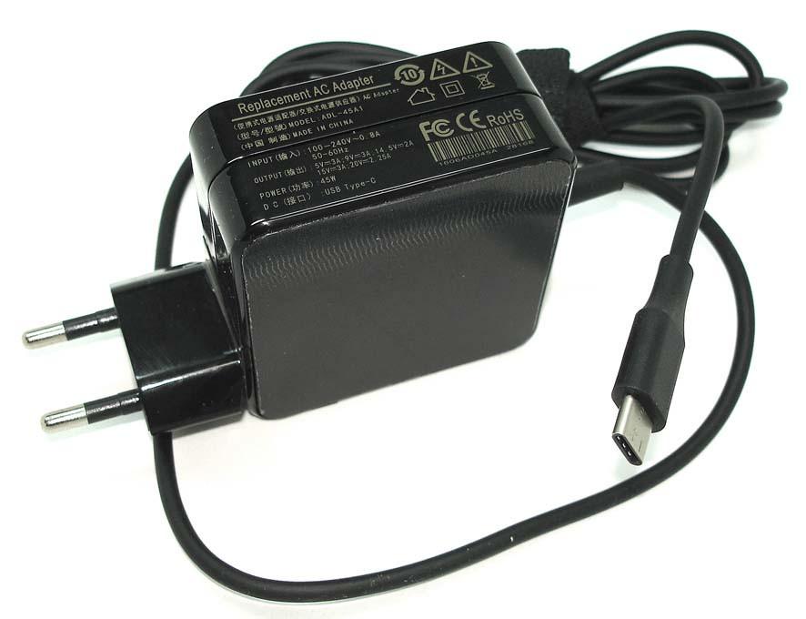 Блок питания для ноутбука Lenovo USB-C 45W