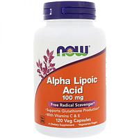 БАД Альфа-липоевая кислота 100 мг (120 капсул)