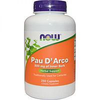 БАД Кора муравьиного дерева 500 мг (250 капсул) Pau D'Arco