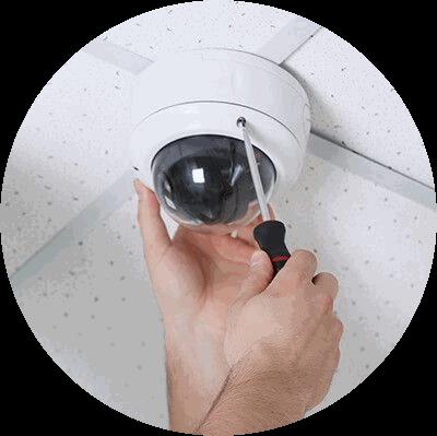 Видео камера внутренняя, установка на высоте до 3 м