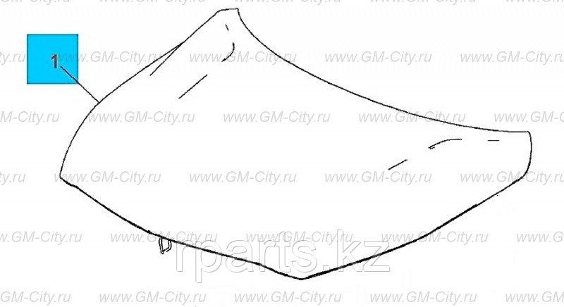 Капот  Chevrolet Malibu/ Шевроле Малибу