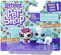 Набор фигурок Littlest Pet Shop Скунс и ежик