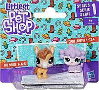 Набор фигурок Littlest Pet Shop Конек и ягненок