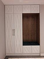 Шкафы с крашенными фасадами в прихожую, фото 1