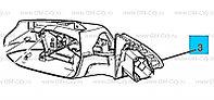 Зеркало боковое  Chevrolet Malibu/ Шевроле Малибу