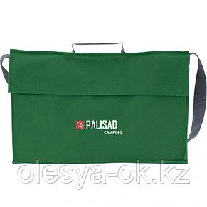 Мангал-дипломат в сумке 410 x 280 x 125, 1,5 мм, 6 шампуров в комплекте, Россия Camping. PALISAD, фото 2