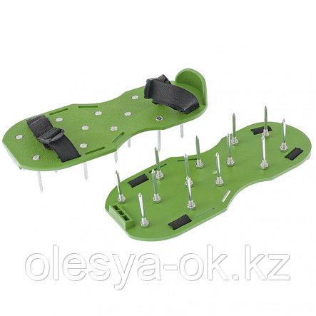 Аэратор ножной для газона, сандалии PALISAD 64498, фото 2