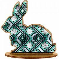 """Набор для вышивания бисером по дереву """"Кролик"""""""