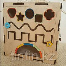 Бизикуб iWoodBox 30х30х30см, фото 2