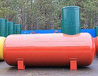 Резервуары подземного размещения отопительные,с высоким патрубком,кожух диаметр 1200 мм. ПОП- 6,6