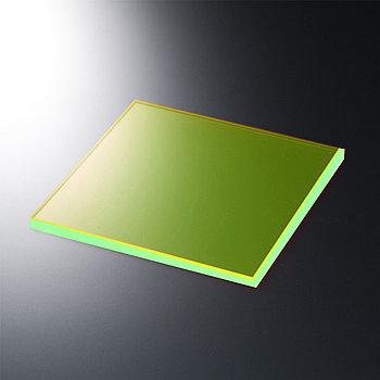 PVC Листы 1220ммX2440ммX2мм 53200 зеленый флуоресцентный