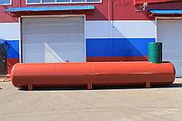 Резервуары подземного размещения отопительные,с высоким патрубком,кожух диаметр 1200 мм. ПОП- 9,6
