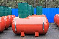 Резервуары подземного размещения отопительные,с высоким патрубком,кожух диаметр 1200 мм. ПОП- 2,5