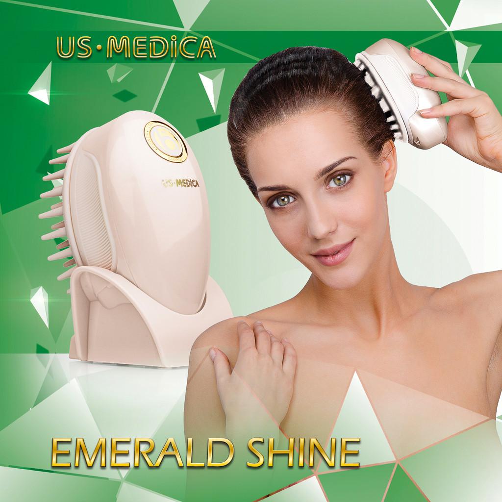 Массажер для головы и волос Emerald Shine