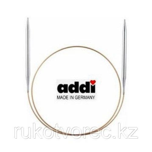 Спицы Addi супергладкие ,никель,№ 3,5,120 см