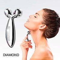 Роликовый массажер для лица и тела US МЕDICA Diamond