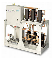 Чиллеры с водяным охлаждением конденсатора NBH 039–190