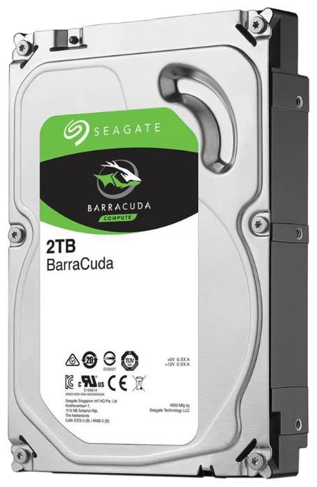 Seagate Barracuda Жесткий диск HDD 2Tb ST2000DM006