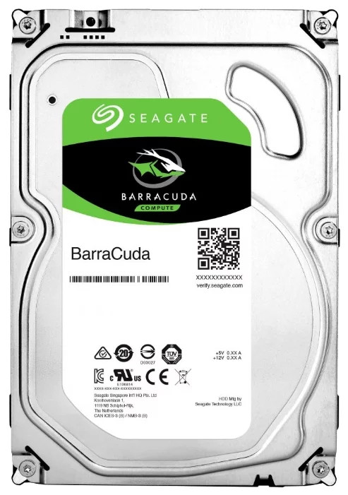 Seagate Barracuda Жесткий диск HDD 3Tb ST3000DM008