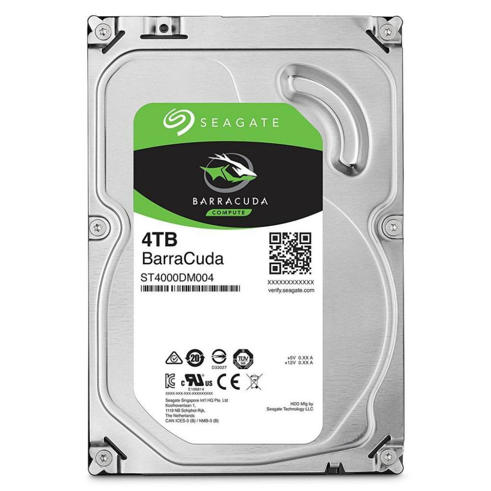 Seagate Barracuda Жесткий диск HDD  4Tb ST4000DM004