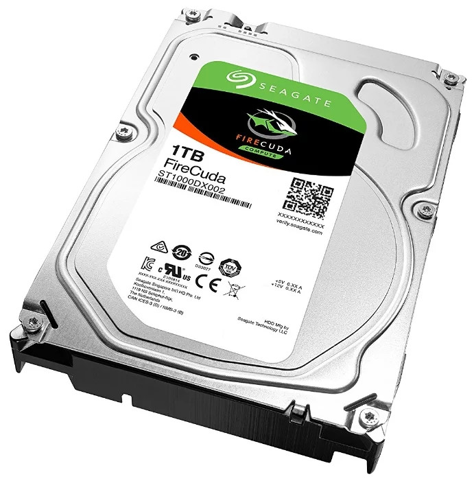 Seagate FireCuda Гибридный Жесткий диск SSHD 1Tb ST1000DX002