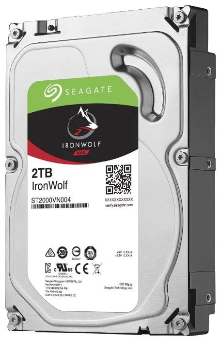 Seagate IronWolf Жесткий диск для NAS систем 2Tb ST2000VN004