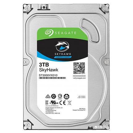 Seagate SkyHawk Жесткий диск для видеонаблюдения 3Tb ST3000VX010, фото 2