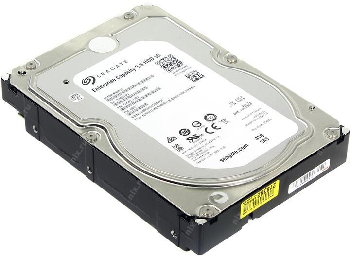 Seagate Enterprise Корпоративный жесткий диск 4Tb ST4000NM0025