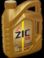 ZIC X9 5W-40 4 литра ПОЛНОСТЬЮ СИНТЕТИЧЕСКОЕ МОТОРНОЕ МАСЛО