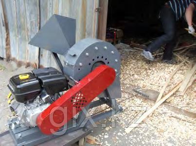 Щепорез-измельчитель Д350 (с удлиненным бункером для веток)