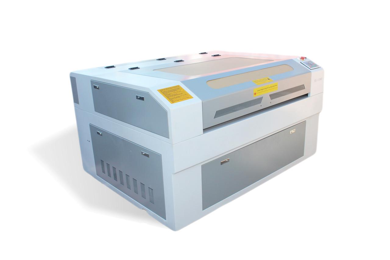 Лазер 1390 RECI 100w, подъемный стол, чиллер cw5200,автофокус