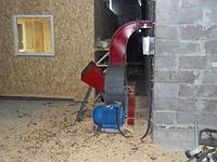 Щепорез-измельчитель с электродвигателем Д630, фото 1
