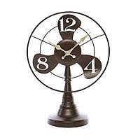 Часы настольные в виде вентилятора 35*34 см