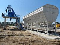 Быстровозводимый стационарный бетонный завод SUMAB T-80