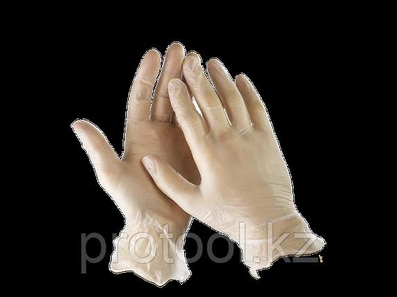 """Перчатки STAYER """"MASTER"""" виниловые экстратонкие, L, 100шт, фото 2"""