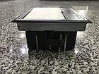Shelbi Напольный лючок на 8 модулей, пластик, серый, фото 6