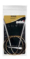 Спицы Addi супрегладкие,никель, №5,5,80 см