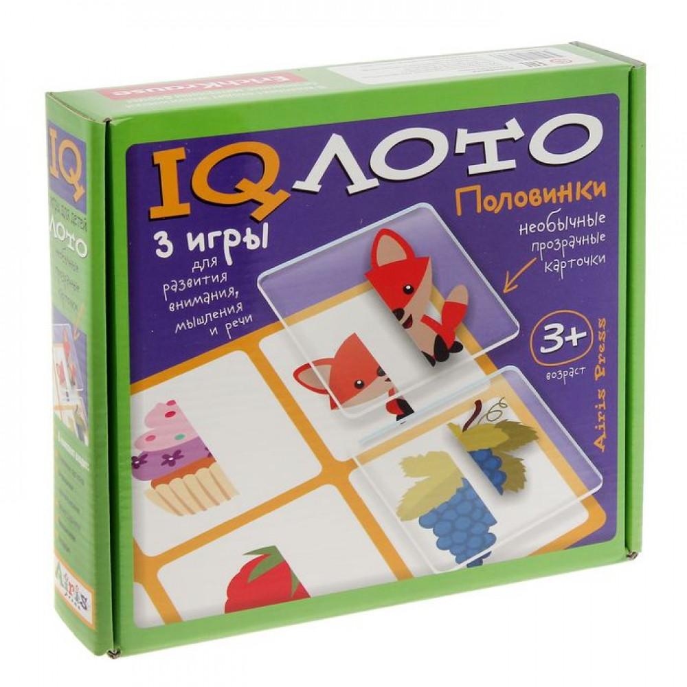 """IQ лото """"Половинки"""""""