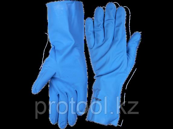 Перчатки хозяйственные резиновые ЗУБР, фото 2