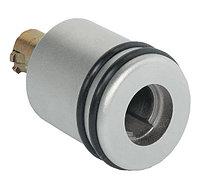 Поворотная ручка-кнопка, 33х30 мм, с кольцами, справа, фото 1