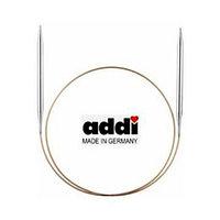 Спицы Addi,супергладкие ,никель, 5,5,100 см