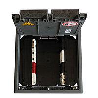 Лючок GES9 55U (Система 55, полиамид, серый) GES9 55U V 7011, фото 1