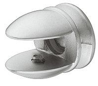 Мебельное крепление, 5-7 мм, 18 х 25 х 18, D 7,5, белый алюминий, RAL 9006, фото 1