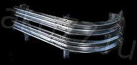 Дорожное и мостовое ограждение барьерного типа с покрытием горячий цинк